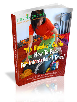 How To Pack For International Travel Report