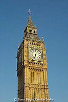 """Big Ben"" is actually a bell within the St Stephen's Tower at the Houses of Parliament"