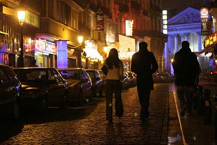 Brussels nightlife