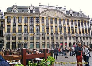 Brussels Grand Place Art Nouveau