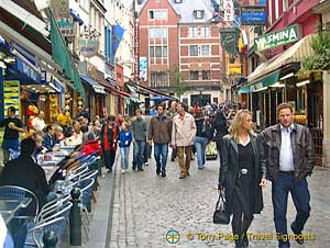 Bars and cafes in Brussels Town Centre