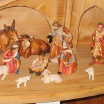 Nativity scene from Oberammergau