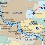 Scenic's River Cruise route