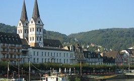 Twin towers of St. Severus Church, Boppard