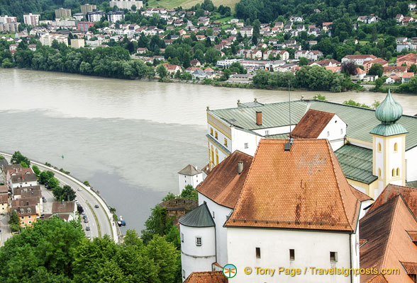 Danube, Inn and Ilz rivers
