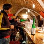 Wine-tasting in the Raffelsberger Hof cellar