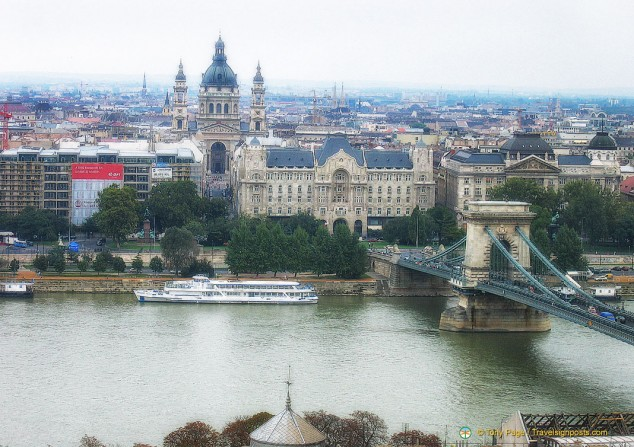 Budapest from Castle Hill