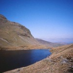 Grisdale Tarn on Coast to Coast walk