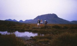 In the wilderness on Tasmania's Overland Track