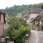 Rue Charlemagne in Conques