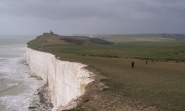 Walking along the Seven Sisters