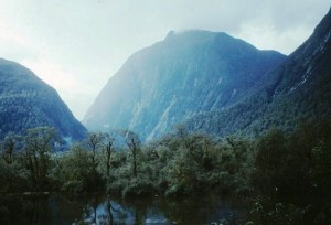 Lake Ada on the Milford Track