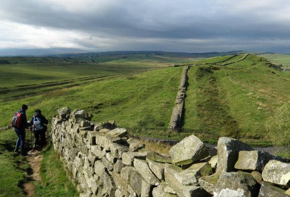 Did Hadrian build Hadrian's Wall?