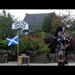 Gretna Green Wedding over the Blacksmith's Anvil