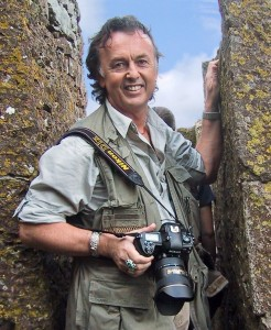 Tony Page at Blarney Castle