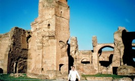 Vagabonds and Poets at the Baths of Caracalla in Rome