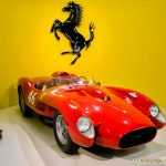 Smitten by Ferrari at the Museo Ferrari in Maranello