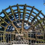The Water Wheels that powered L'Isle-sur-la-Sorgue