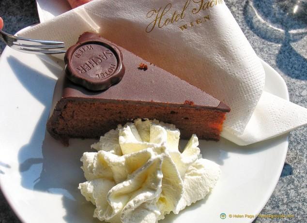 Sacher Torte at Hotel Sache