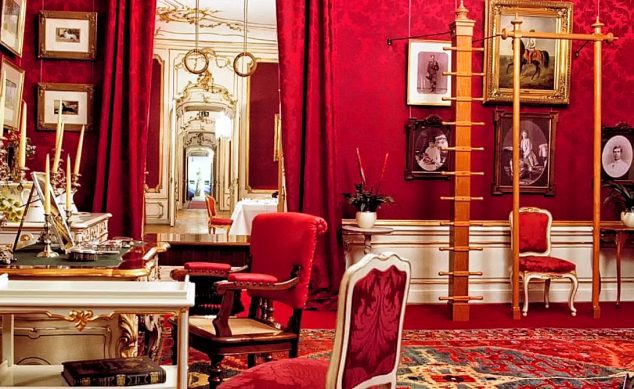Empress Elisabeth's (Sisi's) Dressing and Exercise Room