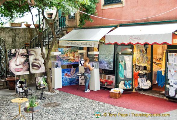 Shopping In Portofino Portofino Shops