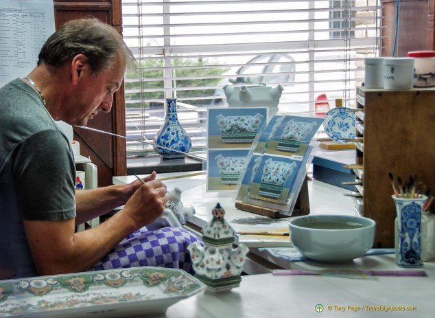 Delft Pottery Artisan