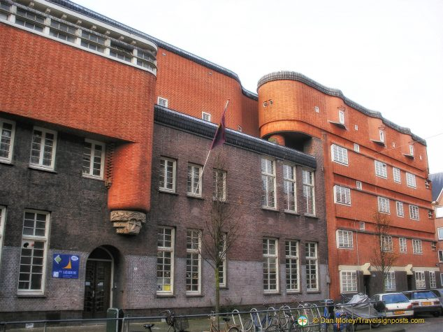 Amsterdam's Het Schip Apartment Building