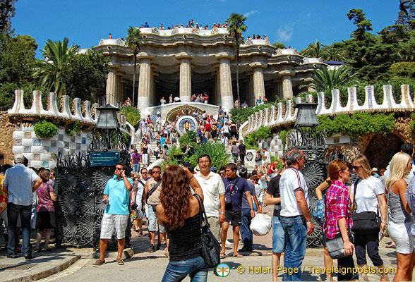 Parc Güell  Gaudi Park  Antonio Gaudi  Barcelona