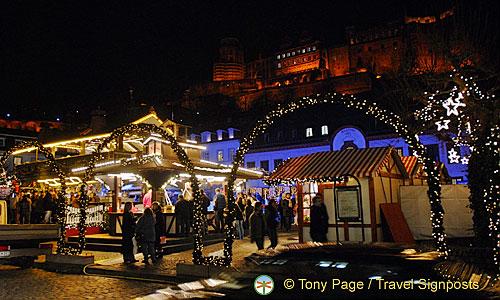 Heidelberg Weihnachtsmarkt.Heidelberg Weihnachtsmarkt