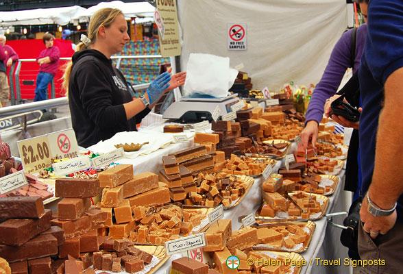 Camden Markets An Amazing Fudge Stall