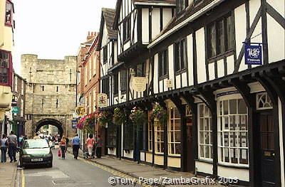 York was a strategic Viking town from 867  Street names
