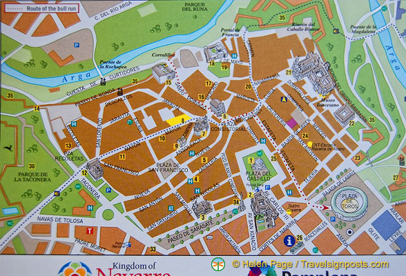 Map Of Spain Pamplona.Map Of Pamplona
