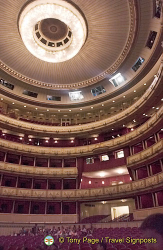 Vienna Opera House auditorium