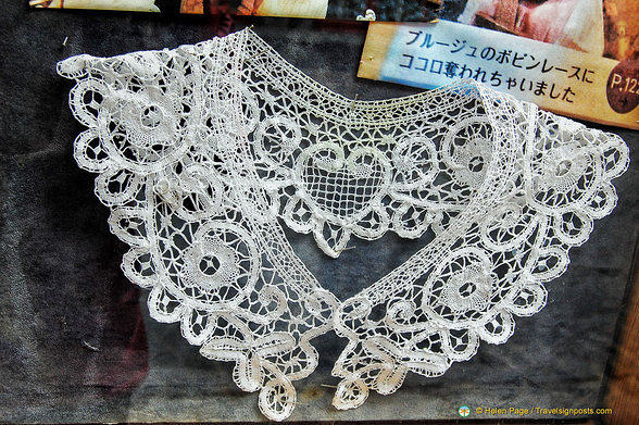 Lace collar from the Rococo lace shop