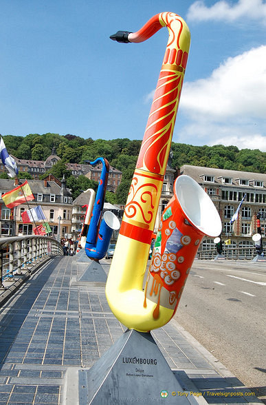 Created by a Luxembourg artist for Adolphe Sax's Bicentenary