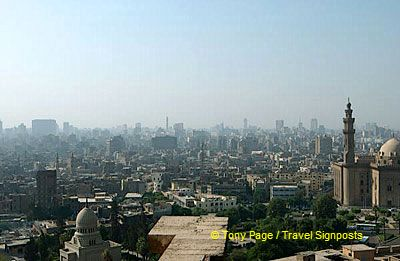The upper terraces of the Citadel offer spectacular views of the city.