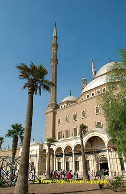 [The Citadel and Mohammed Ali Mosque - Cairo]