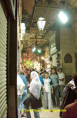 [Shopping in Cairo - Khan el-Khalili Bazaar - Egypt]