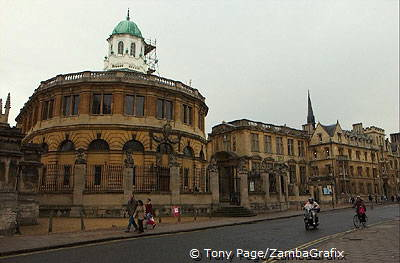 Sheldonian Theatre, venue for Oxford's traditional graduation ceremonies