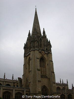 Old image of Tower of St Mary the Virgin Church