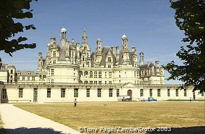 The skyline of delicate cupolas has been likened to a miniature oriental town [Chateaux Country - Loire - France]