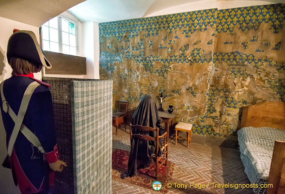 Marie Antoinette's Cell at Conciergerie