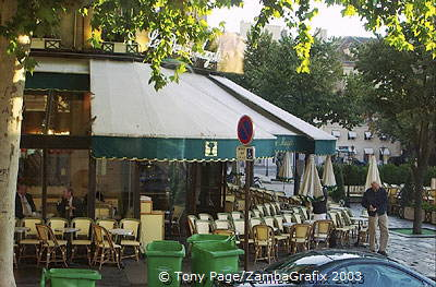 Les Deux Magots - a place to see and be seen