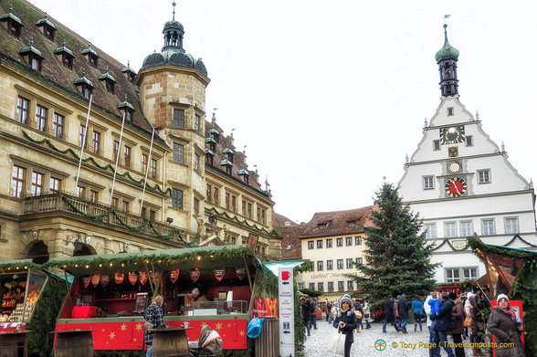 At the Rothenburg Christmas Market