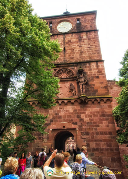 Heidelberg Castle entrance tower