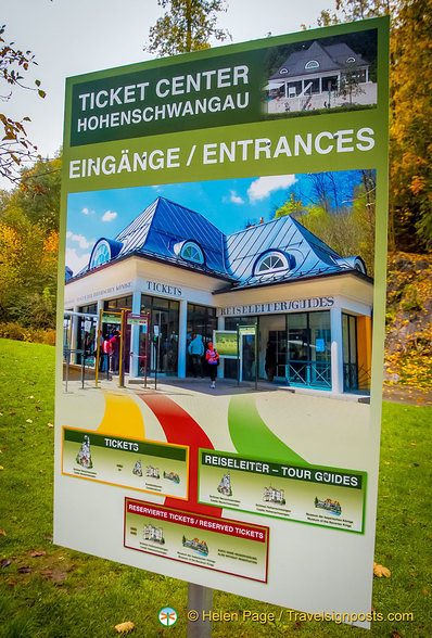 Ticket Centre for the Hohenschwangau castles