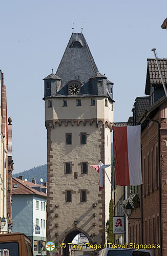 Würzburger Tor at the eastern end of Hauptstrasse