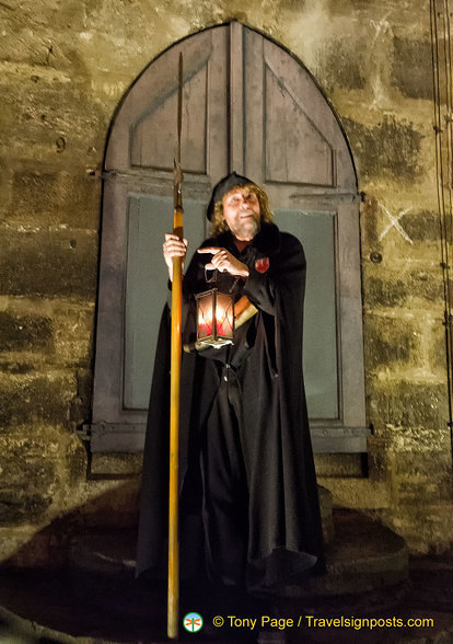 Hans Georg Baumgartner is the Night Watchman of Rothenburg
