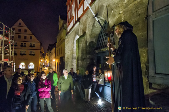 The Night Watchman takes visitors back into the past