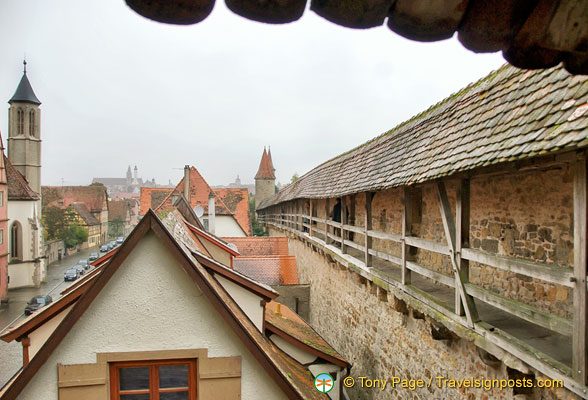View from the Rothenburg wall